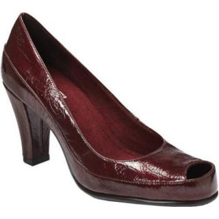 Womens A2 by Aerosoles Big Ben Dark Red Patent