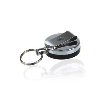 Retractable Heavy Duty Metal ID Card Reel & Name Badge
