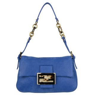 Fendi Forever Royal Blue Mini Mama Shoulder Bag