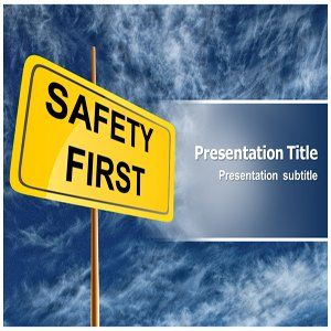 Safety Powerpoint Template  Powerpoint Template for