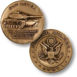 M 60 Patton Army Challenge Coin Everything Else