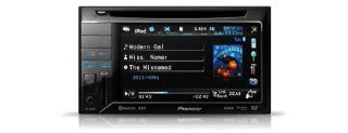 Pioneer AVH 3300BT 2 DIN Moniceiver (14,7 cm (5,8 Zoll), AUX In