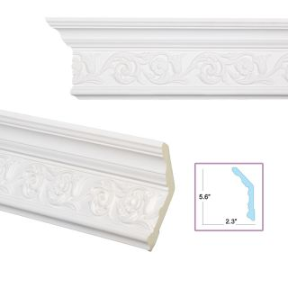 Scrolling Foliage 6 inch Crown Molding Today $199.99 5.0 (1 reviews