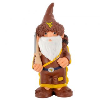 West Virginia Mountaineers 11 inch Thematic Garden Gnome
