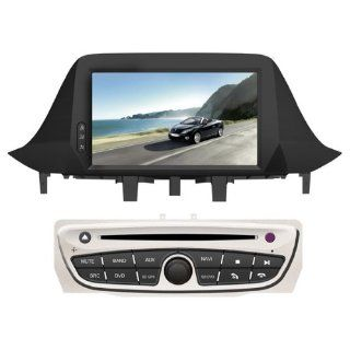 Koolertron(TM) Autoradio DVD Player für 2009 2011 Renault Megane III