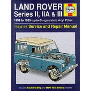 Land Rover Series 2, 2A and 3 1958 85 Service and Repair Man (Haynes