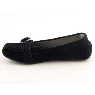Me Too Womens Gina Black Flats & Oxfords