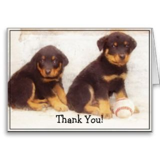 Happy Birthday Dad Rottweiler greeting card