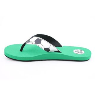 Reef Womens Futbol Goooaaal White Sandals (Size 13)