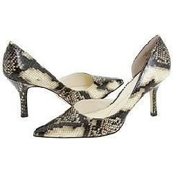 AK Anne Klein Christa Light Natural Synthetic Pumps/Heels