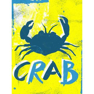 Nate Williams Mar Del Sur Crab Print Art