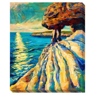 Sunset on the Ocean Oversized Gallery Wrapped Canvas Today $136.99