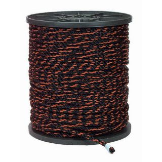 Black/ Orange 600 foot Heavy duty Truckers Rope