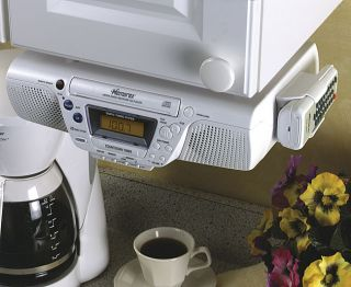 Memorex MC3800 Under the Cabinet CD Clock Radio
