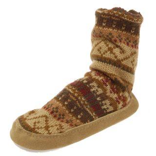 MukLuks Boys Slipper Socks