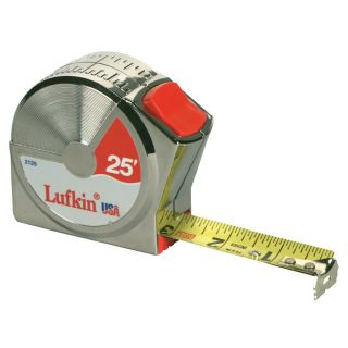 Cooper Hand Tools 25 Foot Power Return Tape Measure Today $16.19