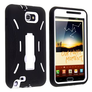 Hybrid Case with Stand for Samsung Galaxy Note N7000/ I717