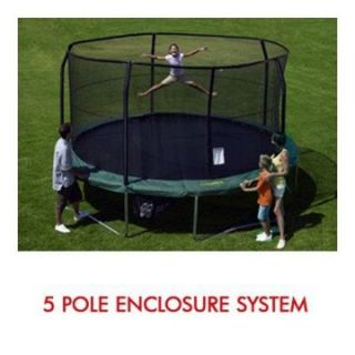 15 ft. Trampoline Net attaches with Top Ring Pole Enclosures G3/G4