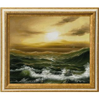 Tide Before The Storm Hand painted Canvas Art