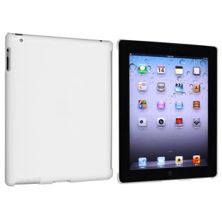 White Snap on Case for Apple iPad 3