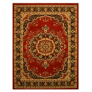 Pat Medallion Oriental Red Rug (710 x 106)