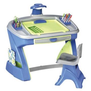 American Plastic Toys Creativity Desk and Easel   Art Tables at