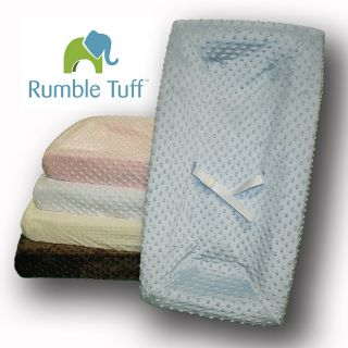 Rumble Tuff Minky Dot Changing Pad Cover