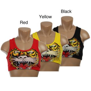 Ed Hardy Womens Tiger Sports Bra