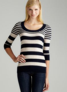 Prince Of Thieves L/S Vari Stripe Rib Sweater