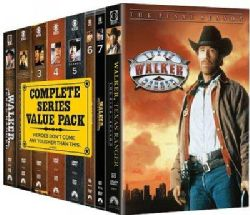 Walker, Texas Ranger The Complete Series (DVD)