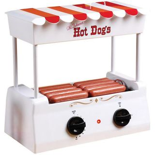 Hot Dog Rotisserie Roller Grill Machine