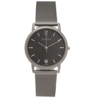 Skagen Mens Titanium Slim Profile Watch