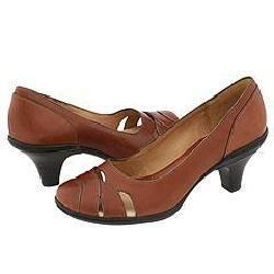 Sofft Cara Dark Brown Leather Pumps/Heels