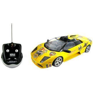 Ed Hardy Lamborghini Murcielago Roadster Remote Control Car