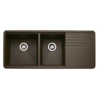 Blanco Précis 1 and 3/4 Bowl Kitchen Sink with Drainer   Kitchen