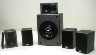 K5 and KX10 5.1 Surround Sound Theater Speaker System