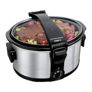 Hamilton Beach 33472 7 qt. Stay or Go Portable Slow Cooker   Slow