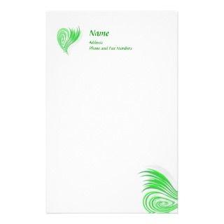 Green Eco Friendly Design Business Card
