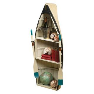 Authentic Models Dory Bookshelf / Table with Glass   Nautical Decor at