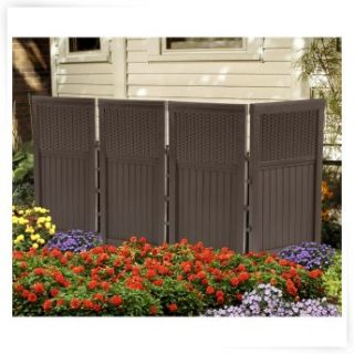 Outdoor privacy screen on popscreen for Simple outdoor privacy screens