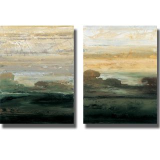Simonyman Suffolk Trees I and II 2 piece Canvas Art Set