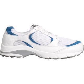 Womens Propet Journey White/Blue