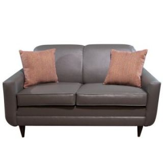 Charles Schneider Shawnee Pewter Loveseat with Impact Multi Accent