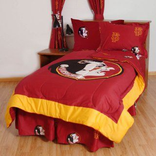 College Covers Collegiate Printed Sheet Set   White   Bed & Bath at