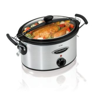 Hamilton Beach 33169 5 qt. Stay or Go Slow Cooker   Slow Cookers at