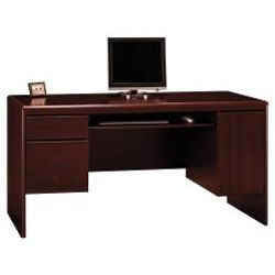 Bush Furniture Northfield Collection Credenza with Hutch Suite