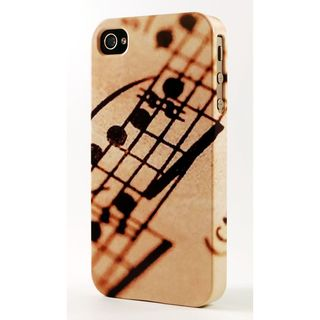 Musical Score Dimensional Plastic iPhone Case