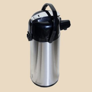 Eco Air 2.2 liter/ 74.4 oz Beverage Insulated Lever Airpot