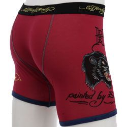 Ed Hardy Mens Boxer Brief Underwear