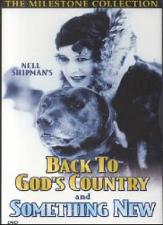 Back to God`s Country/Something New   Silent with Musical Score (DVD